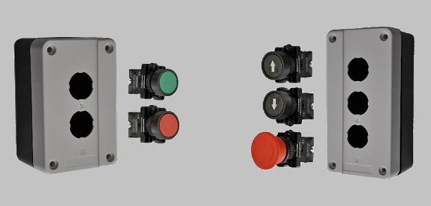 Przyciski, przełączniki i lampki seria AS22
