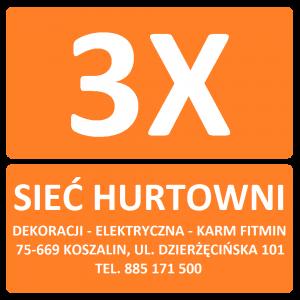 Sieć Hurtowni 3X Koszalin